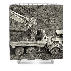 Scoop Shower Curtain by Patrick M Lynch