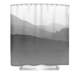 Scotch Mist Shower Curtain by Lynn Bolt