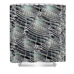 Scraper Shower Curtain by Tim Allen