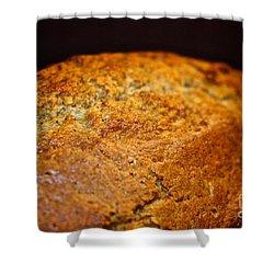 Scratch Built Bread Shower Curtain by Susan Herber