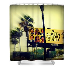 Screen Actors Guild In La Shower Curtain by Susanne Van Hulst
