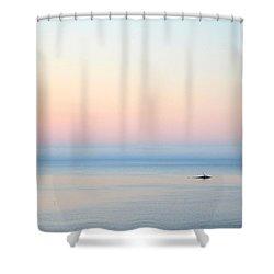 Sea Fog Shower Curtain