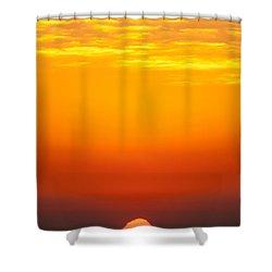 Sea Sunrise Shower Curtain