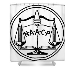 Seal: Naacp Shower Curtain by Granger