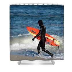 Searching For That Wave Shower Curtain