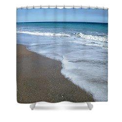 Seascape Wrightsville Beach Nc  Shower Curtain