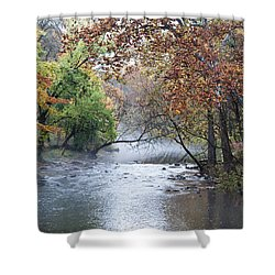 Seasons Change Shower Curtain by Bill Cannon