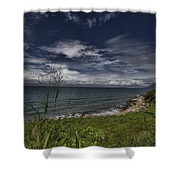 Secluded Cove Shower Curtain by Douglas Barnard