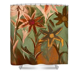 Second In Line Shower Curtain by Trish Tritz