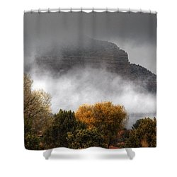 Sedona Fog Shower Curtain
