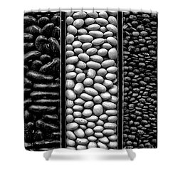 Seeds Shower Curtain
