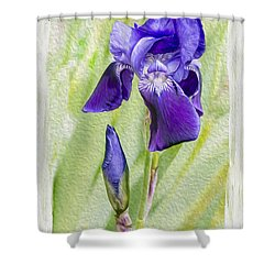 Seeing Purple Shower Curtain