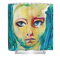 Self Portrait I  Shower Curtain by Sheridan Furrer