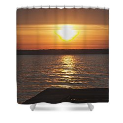 Shower Curtain featuring the photograph Seneca Lake by William Norton