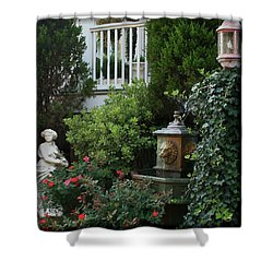 Serene Shower Curtain by Karen Harrison