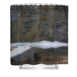 Serene Reflections In Spring Shower Curtain