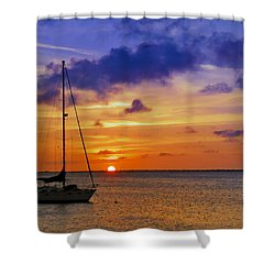 Serenity 2 Shower Curtain by Stephen Anderson