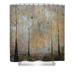 Serenity Shower Curtain by Germaine Fine Art