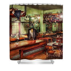 Sewing - Industrial - The Sweat Shop  Shower Curtain by Mike Savad