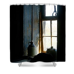 Shower Curtain featuring the photograph Shades Of Blue by Vicki Pelham