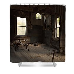 Shower Curtain featuring the photograph Shadows Of Time by Fran Riley