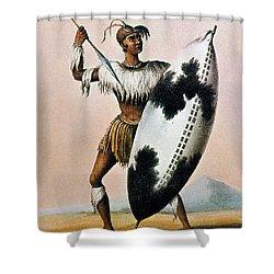 Shaka Zulu (c1787-1828) Shower Curtain by Granger