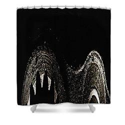 Sharp Shower Curtain by Skip Nall
