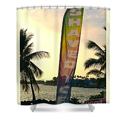 Shaved Ice Shower Curtain by Beth Saffer