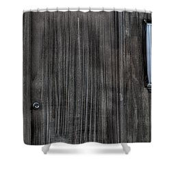 Shower Curtain featuring the photograph Shed by Zawhaus Photography