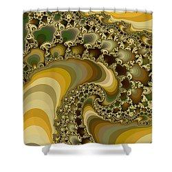 Shells On Sand II Shower Curtain