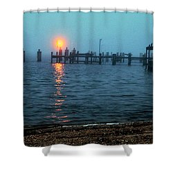 Shower Curtain featuring the photograph Shhh Listen by Clayton Bruster