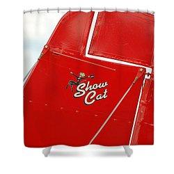Show Cat Shower Curtain