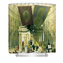 Shrine Of The Holy Sepulchre April 10th 1839 Shower Curtain