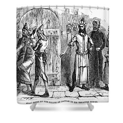 Siege Of Baghdad, 1258 Shower Curtain by Granger