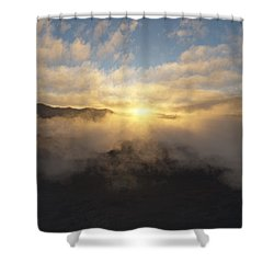 Sierra Sunrise Shower Curtain