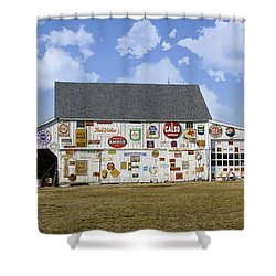 Signs Of The Times Shower Curtain by Brian Wallace