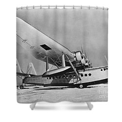 Sikorsky S-42 Shower Curtain by Photo Researchers