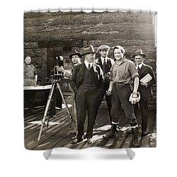 Silent Film Set, C1925 Shower Curtain by Granger