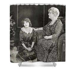 Silent Film Still: Women Shower Curtain by Granger