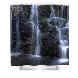 Silk  Shower Curtain by Jeff Bord