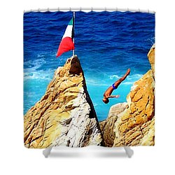 Simply Mexico Shower Curtain by Karen Wiles