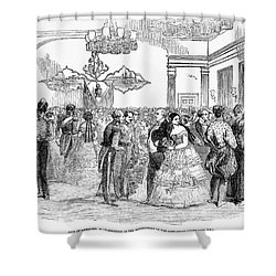 Singapore: Ball, 1854 Shower Curtain by Granger