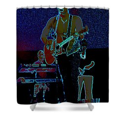 Singing From The Soul Shower Curtain by Renee Trenholm
