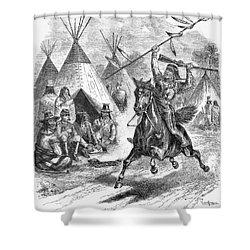 Sioux War, 1876 Shower Curtain by Granger