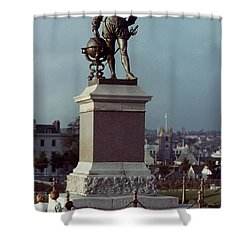Sir Francis Drake Shower Curtain by Granger