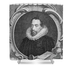 Sir Francis Walsingham Shower Curtain by Granger