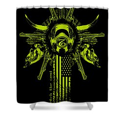 Six Shooter Shower Curtain