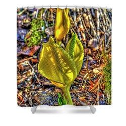 Skunk Cabbage - 2 Shower Curtain