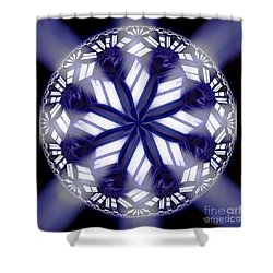 Sky Windows Shower Curtain by Danuta Bennett