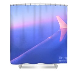 Skybluepink Shower Curtain